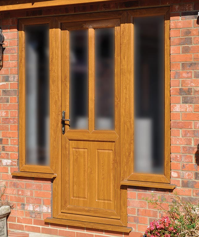 ex&le UPVC doors & UPVC front back secure glazed doors